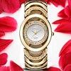 CRRJU Luxury Women Watch Famous Brands Gold Fashion Design Bracelet Watches Ladies Women Wrist Watches Relogio