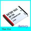 Venta caliente 1 unids bp-70a bp70a bp 70a recargable batería de la cámara para samsung pl80 es70 sl50 sl600