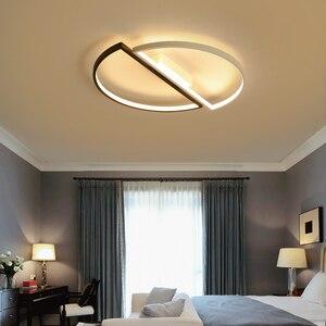Image 4 - Moderne led deckenleuchten Für wohnzimmer esszimmer schlafzimmer warme kreative studie persönlichkeit einfache runde decke lampe