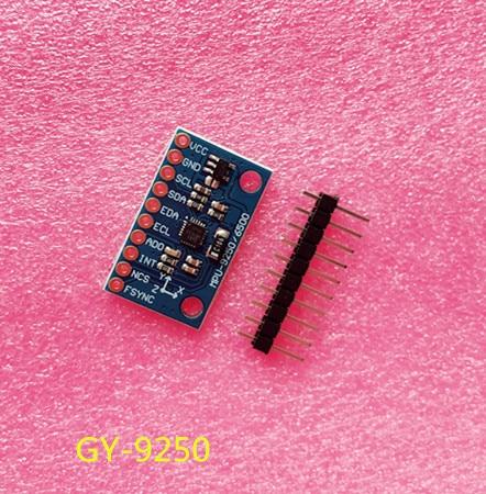 10PCS LOT SPI IIC GY 9250 MPU 9250 MPU 9250 9 Axis Attitude Gyro Accelerator Magnetometer