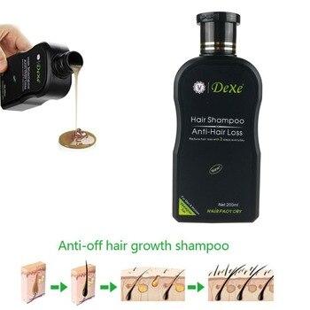 Dexe 200ml Hair Shampoo Set Anti-hair Loss Chinese Herbal Hair Growth Product Prevent Hair Treatment For Men & Women