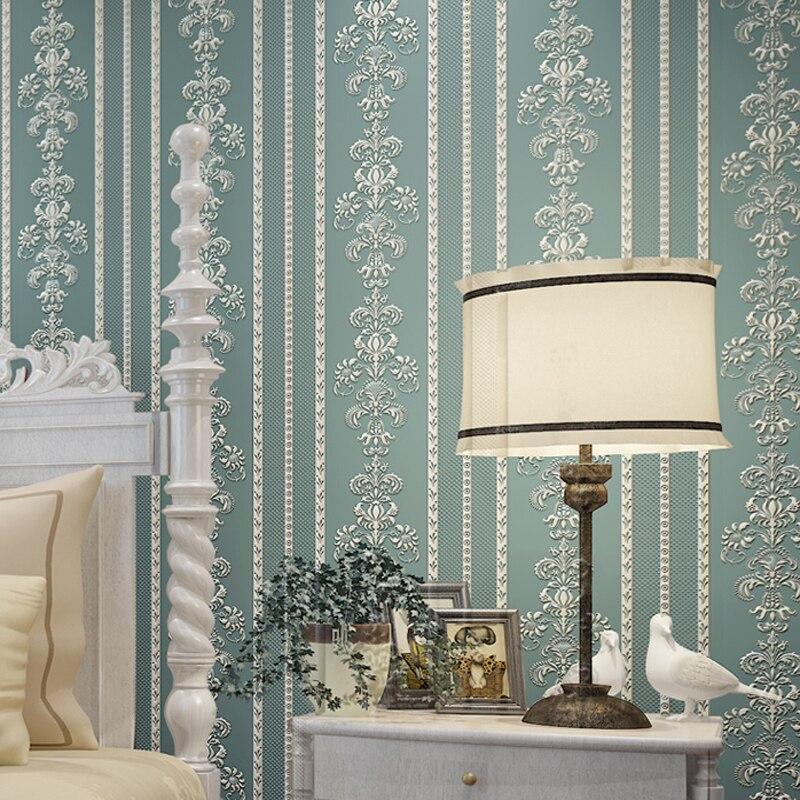 Aliexpress com   Buy European Modern Fashion Stripe 3D Wallpaper Home Decor  Wallpapers Roll Mural Wall Papier Living Room Papel de Parede JS007 from. Aliexpress com   Buy European Modern Fashion Stripe 3D Wallpaper