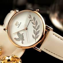 YAZOLE Luxury Brand Women's Watch Simple Style Leather Strap Quartz Watch Fashion Wristwatch Ladies Watches Clock For Women цена