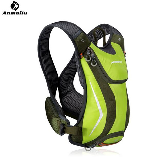ФОТО ANMEILU Running Bag 5L Outdoor Sport Running Cycling Backpack Outdoor Sports Marathon Backpack With 2L Water Bag