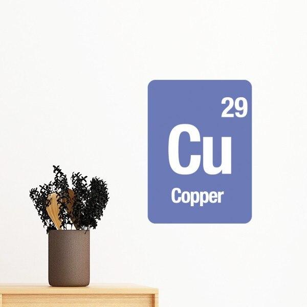 Single Chemical Element Study Copper Iron Sulfur Zinc Square