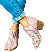Europe 2019 Hot Women Sandals Fish Mouth High-heels Shoes Woman Flat Platform Fashion Casual Gladiator Hollow Plus Size 35-43 dijigirls cross strap high heels fish mouth leisure series chain sandals shoes woman high quality gladiator women free shipping
