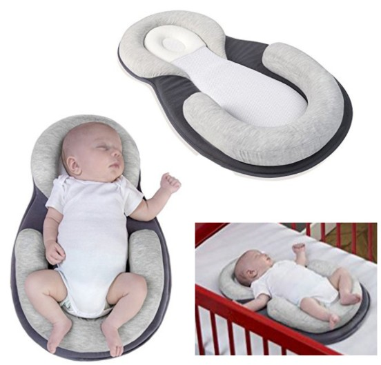 цена на Baby Stereotypes Pillow Infant Newborn Anti-rollover Mattress Pillow For 0-12 Months Baby Sleeping Positioning Pad Cotton Pillow