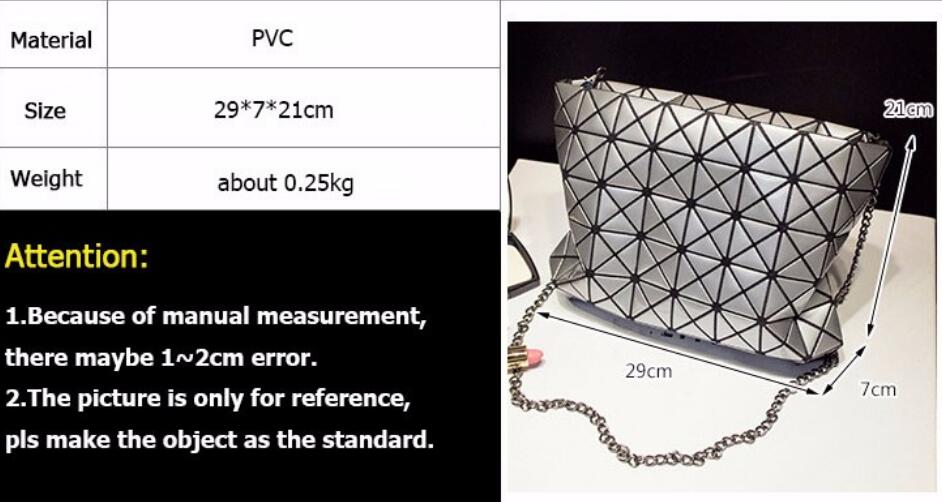 18 Famous Bao Bags Women Geometric Lingge Envelope Handbag Small Chain Clutch Ladies Shoulder Bags Messenger Bag Bao Bolsa 10