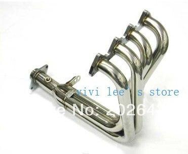 Автомобильный турбо выхлопной коллектор, выхлопная труба для honda B18C B16C 304, выхлопная труба из нержавеющей стали для автомобиля, Турбокомпрес