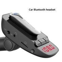 New Bluetooth Wireless Car FM Transmitter Mp3 Player Handsfree Car Kit USB Charger LCD Display Support TF Card Car FM Modulator