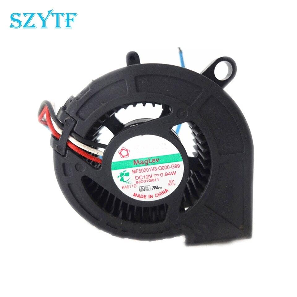 for SUNON KDE1208PKV3 8CM 12V 0.8W Ultra-Quiet 8020 Magnetic levitation Cooling Fan 3-Wire Detection Speed