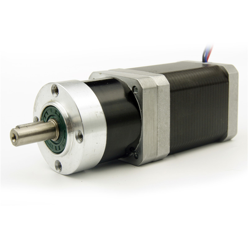 NEMA17 Planetary Gearbox Stepper Motor 4:1/5:1/10:1/16:1/20:1/25:1/40:1/50:1/100:1 reducer ratio Motor length 60mm 1.2A 4wires