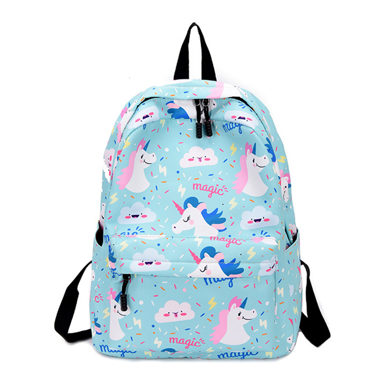 Capable New Popular Flamingo Luggage & Bags Unicorn Backpack Female 2019 High Quality Student School Bags Big Travel Backpack For Teenage Girls M488 Possessing Chinese Flavors