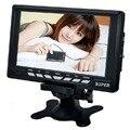 Mini Portable TV Monitor 7 Coche Barato 7inch Small TV Portatil Mini 800*480 With AV TFT In & Out , USB , SD Card Slot