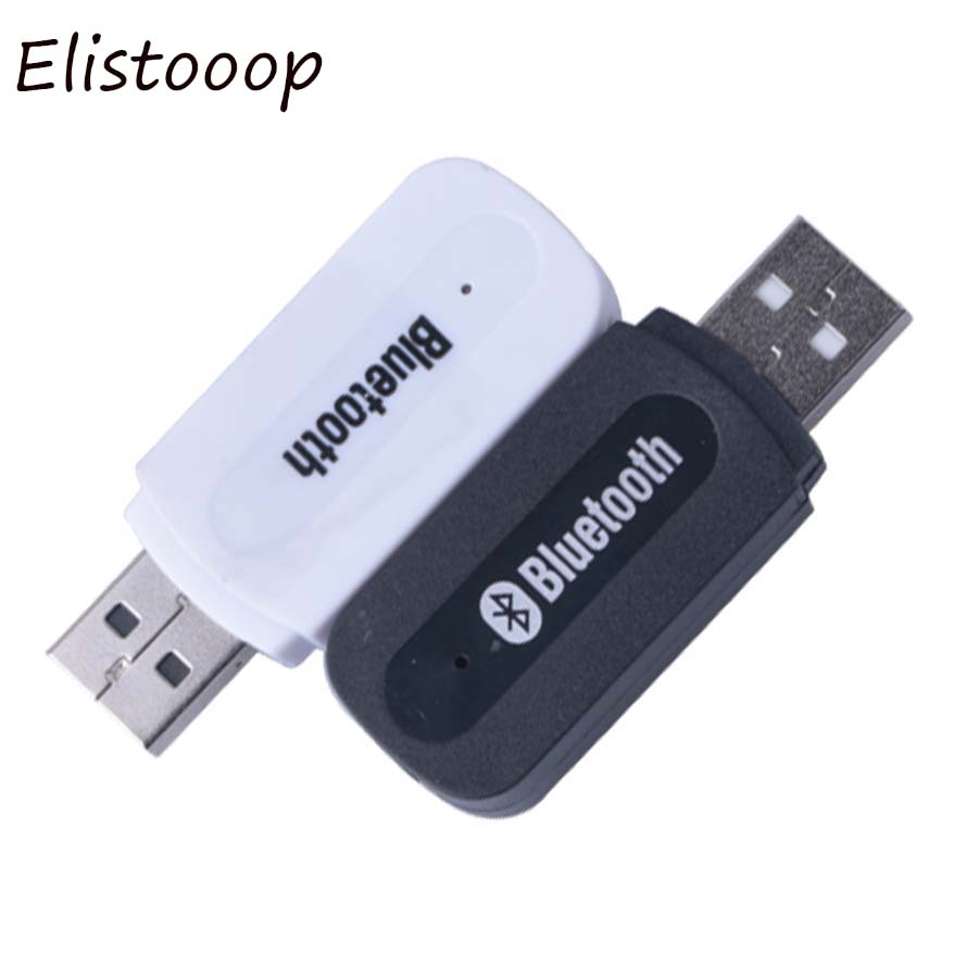 Elistooop 3.5mm Bluetooth USB A2DP Adapter Dongle Blutooth Music Audio Receiver Wireless Stereo home speaker