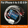 Smart Phone Repair Power Charger Line Wire Cable For iPhone 4/4s/5/5s/6/6 Plus Battery Activator Repairing Tools