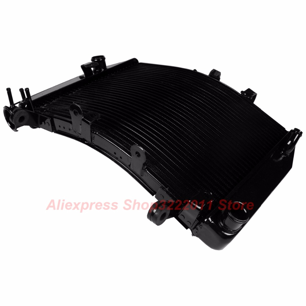 Motorcycle Radiator for Yamaha YZF R6 2003-2004 R6S 2006-2010 Aluminum Water Cooler Cooling Kit for yamaha fz6 fz600 2004 2010 2005 2006 2008 2009 fz6n fz6s fz 6s fz 6n fz 600 motorcycle aluminium radiator cooling cooler