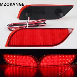 2Pcs Backup Tail Light Rear Bumper Lamp LED Reflector stop Brake light fog lamp For Subaru /Impreza/XV/WRX/LEVORG/Crossover(China)