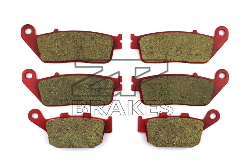 Brake Pads Ceramic For Front + Rear HONDA CB 400 SF (F2N/F2R/F2S/F2T/F3S) Superfour 1992-1995 OEM New High Quality ZPMOTO motorcycle brake pads ceramic composite for triumph 800 tiger 2011 2014 front rear oem new high quality zpmoto