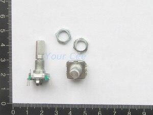 10 шт., цифровой потенциометр EC11 с поворотным кодовым переключателем и ручкой длиной 20 мм
