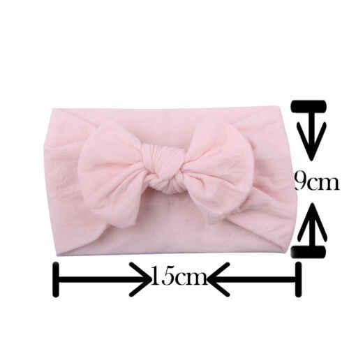 2019 ใหม่แฟชั่นน่ารักทารกแรกเกิดเด็กทารก Boy และสาวขนาดใหญ่ Bow Headband Hairband Headwear อุปกรณ์เสริมผม
