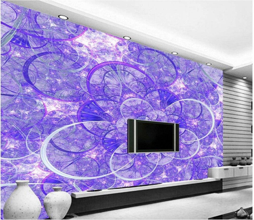 ⓪Pared papel pintado de la fantasía flor púrpura hueco ...