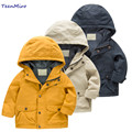 Brand Children Outerwear Spring Coat Clothes Kids Jackets Boys Windbreaker Toddler Boys Blazer Child Hooded Clothing