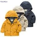 Crianças da marca Outerwear Casaco de Primavera Roupas Crianças Jaquetas Meninos Blusão Meninos Da Criança Blazer Criança Roupa Com Capuz