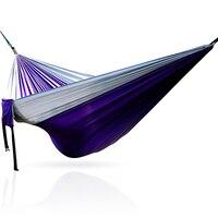 Taşınabilir paraşüt hamak  katlanır ve taşınabilir dış mekan mobilyası Hamak