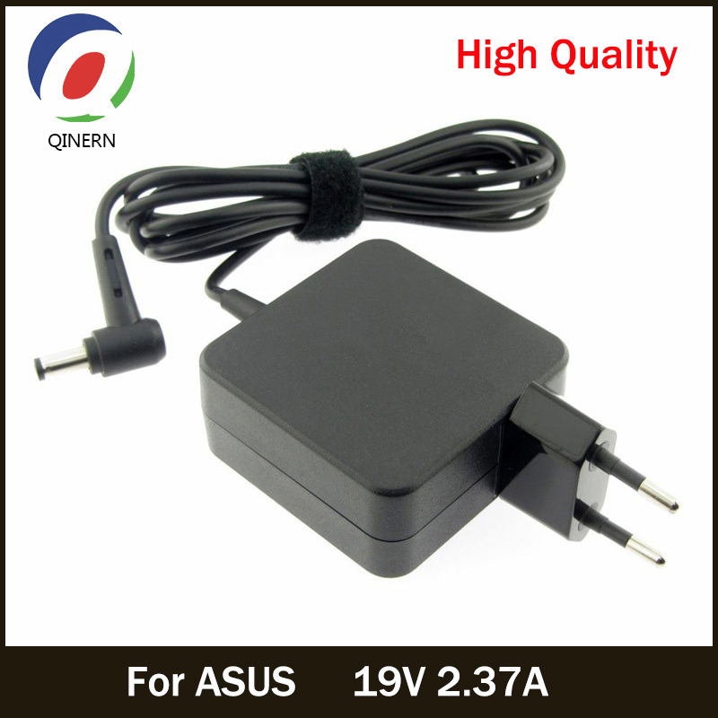 QINERN EU 19V 2.37A 4.0*1.35mm AC Laptop Charger Adapter For ASUS UX21A UX31A VivoBook: S200E S201 Power Supply Pour ASUS Laptop