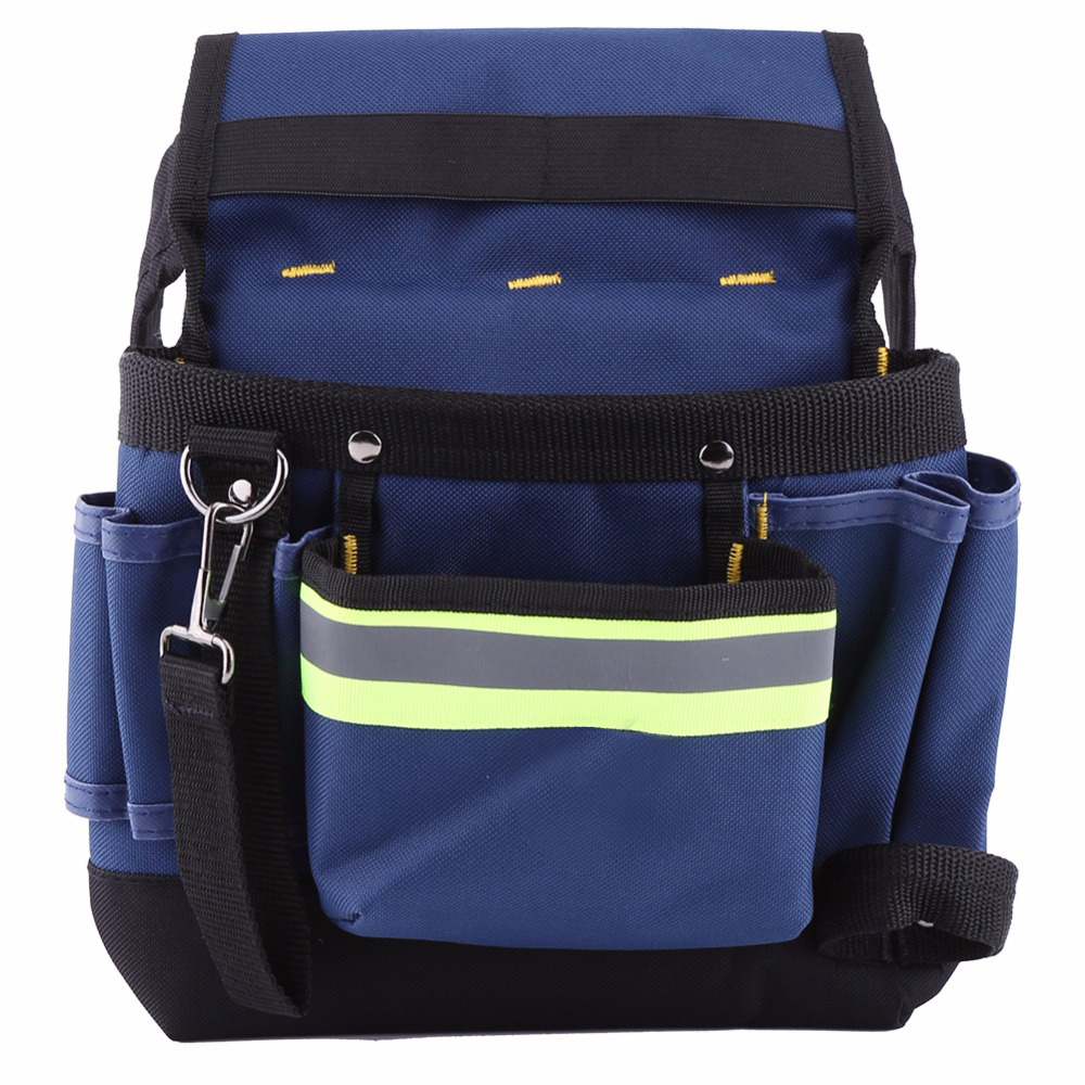 3c671d7f30a0 Electrician Waist Bag Tool Holder Convenient Work Organizer Pouch Belt Men  Multi-Pockets Tool Bag For Hand Tools Screwdrivers
