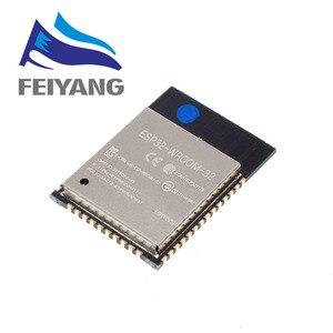 Image 3 - 10PCS ESP32 ESP 32 무선 모듈 ESP32 S ESP WROOM 32 ESP 32S 32 Mbits PSRAM IPEX PCB 안테나 4MB 플래시
