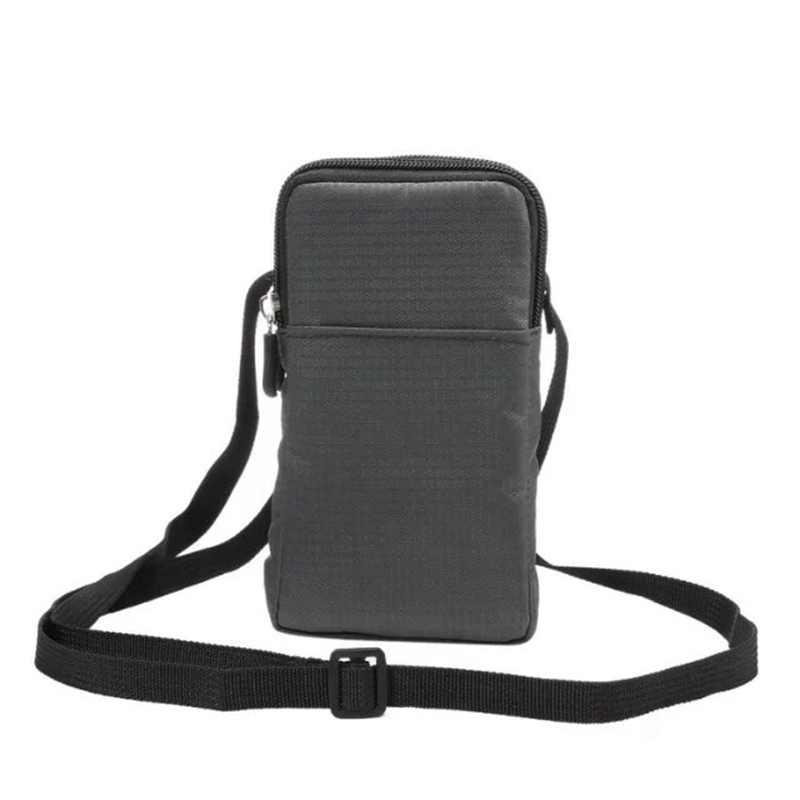 العالمي الأزياء الرياضية محفظة الهاتف المحمول حقيبة ل فون هواوي Xiaomi سامسونج جيب حقيبة في الهواء الطلق الهاتف حقيبة كتف الحافظة