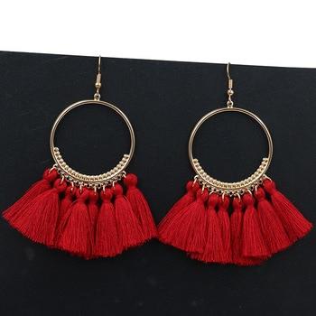Handmade Tassel Earrings 5