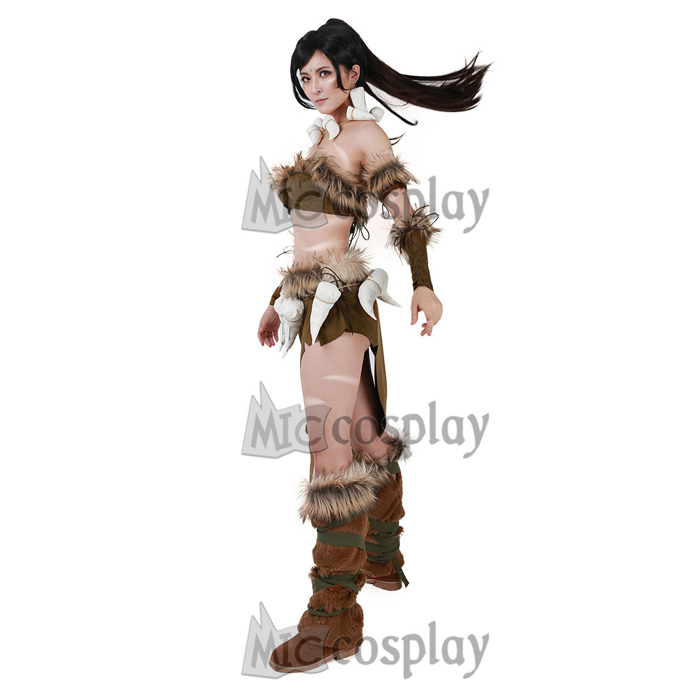 Classic Nidalee Cosplay Costume Women Female Top 2