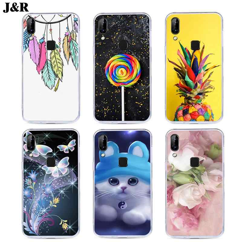"J&R Silicon Soft TPU Phone Cover For Lenovo S5 Pro L58041 S5Pro S 5 Pro 6.2""Case Fashion Slim Ultra thin Transparent Clear Cases"
