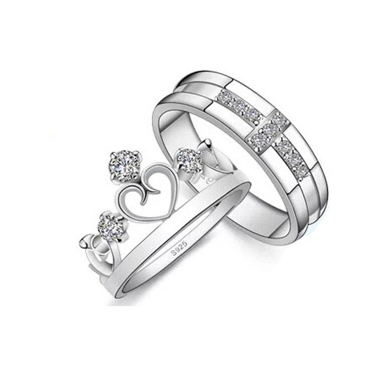 k018 south korean style fashion jewelry crown shaped 925