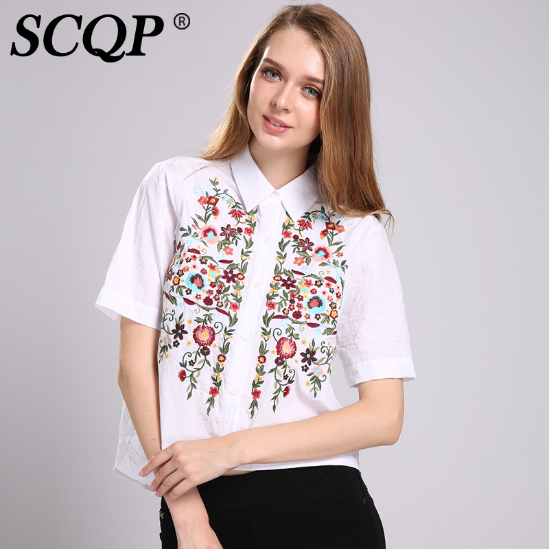 Aliexpress buy scqp floral pattern embroidered