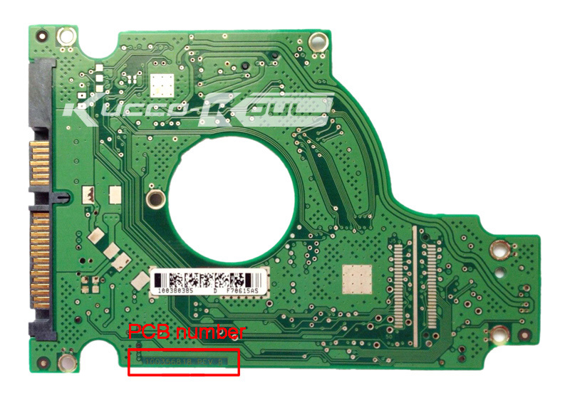 hard drive parts PCB logic board printed circuit board 100356818 for Seagate 2.5 SATA hdd data recovery hard drive repair