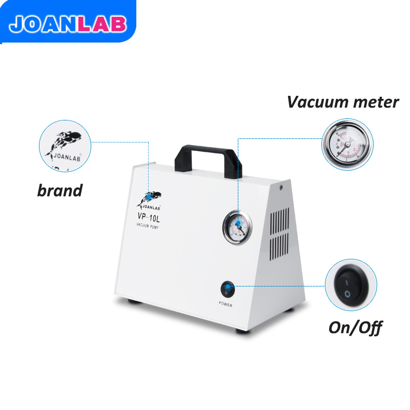 JOANLAB Vacuum Pump Of Laboratory Suction Pump For Vacuum Filtration, Dissolution Filtration ,vacuum Distillation