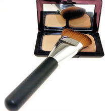 1 PC Professional Flat Contour Brush Face Cheeks Blend Foundation Eyebrow Facial Makeup Cosmetic Brusher Tool