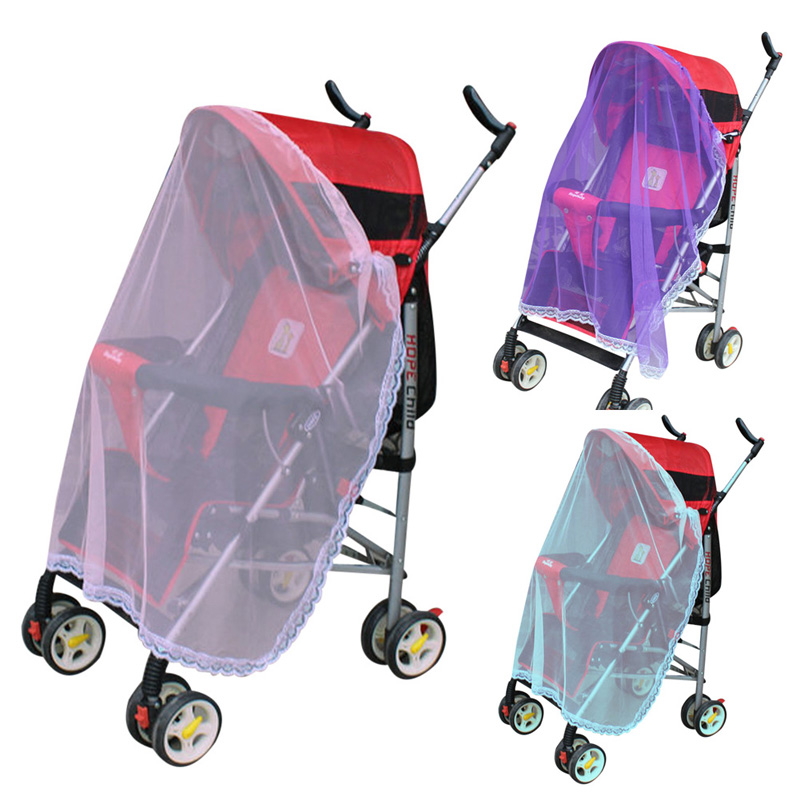 3 Colors Baby Mosquito Net for Strollers Carriers Car Seats Cradles 31 39 Inch Baby Stroller