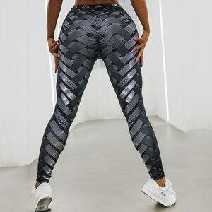 Image 4 - Women Leggings High Waist Leggings For Fitness Feminina Workout Jeggings 3D Printed Leggings 4 Color