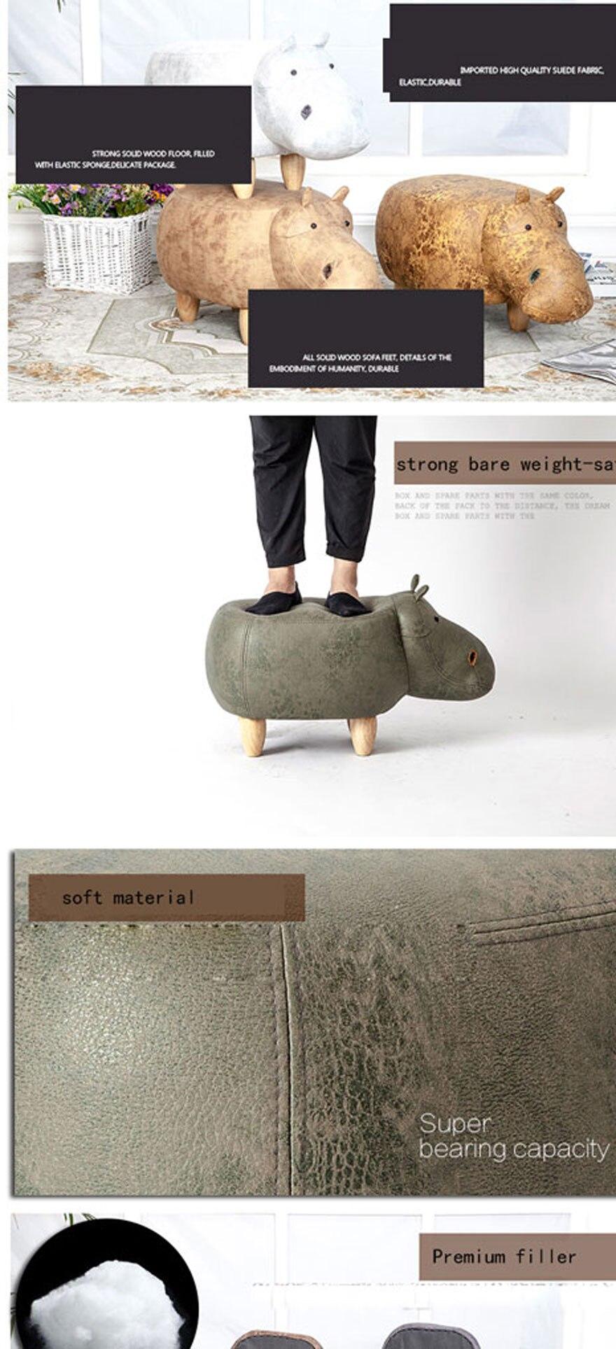 2018 Venta Caliente De La Manera Superior Hipop Tamo Taburetes  # Muebles Hipopotamo