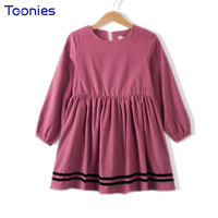 Autumn Winter Girls Dress Children S Dresses Long Sleeved Casual Vestidos Princess Kids Clothes High Quality