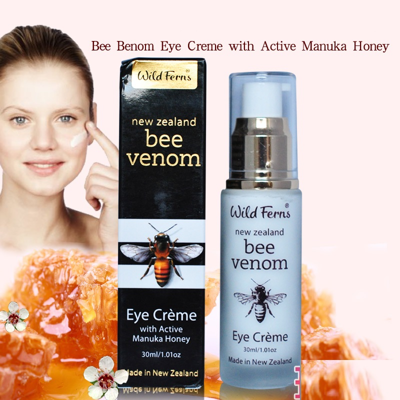 Original NewZealand Parrs Manuka Honey Bee Benom Eye cream Anti Puffiness Dark Circle Anti Aging Eye Care treatment Moisturizing protective pet high clear screen protector guard film for nokia lumia 920 transparent 5 pcs
