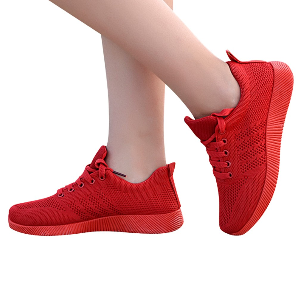 Кроссовки для бега; тканая повседневная обувь ярких цветов; студенческие дышащие сетчатые женские спортивные кроссовки на шнуровке; женская обувь Беговая обувь      АлиЭкспресс