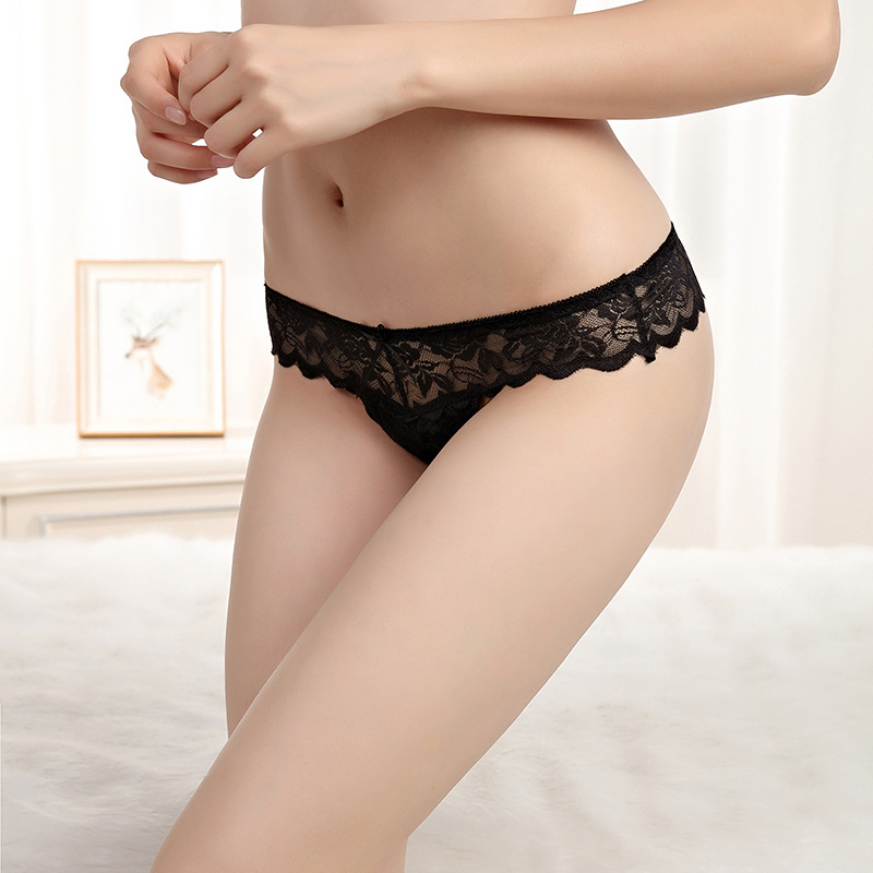 Ladies underwear woman panties fancy lace calcinha renda sexy panties for women traceless crotch of cotton