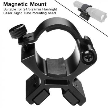 new nitecore handle mount kit nhm20 for monster tiny series tmc16tm16gt travel flashlight assembly original accessories MX01 Magnetic Mounting Bracket LED Flashlight Mount Bracket + Dual Magnets for 24-27mm Flashlight Dim Range Assembly Flashlight