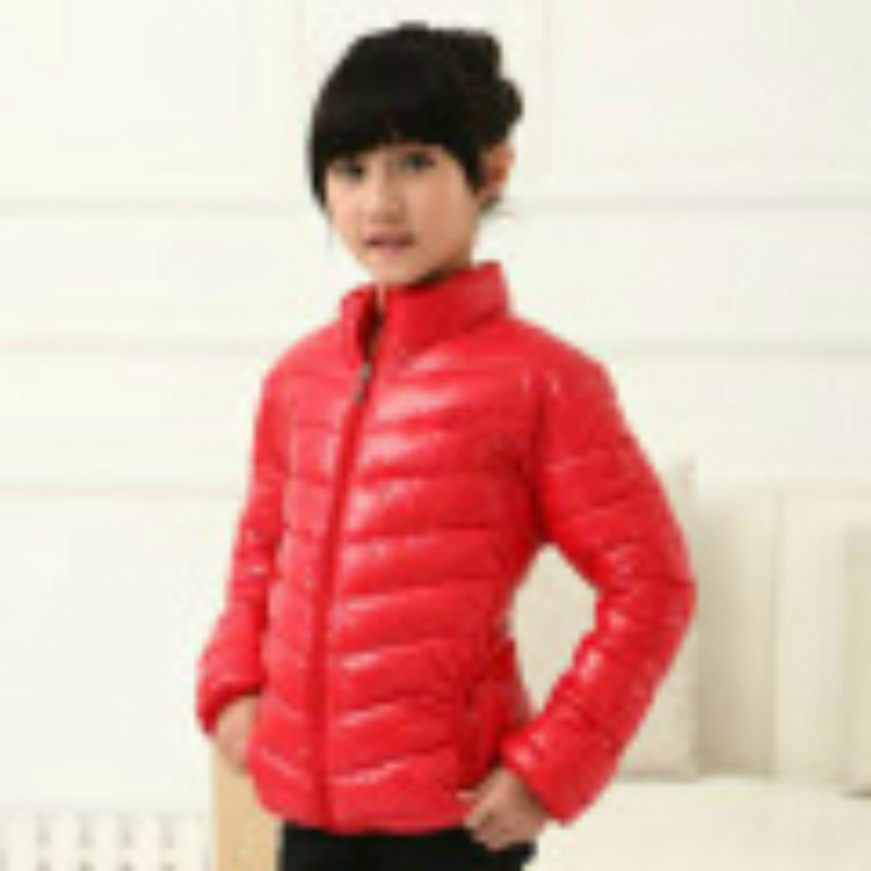 2018 Autumn and Witer Children Coat Chidren New Feather Padded Coat Children Down Parkas New Arrival Factory Direct Sales